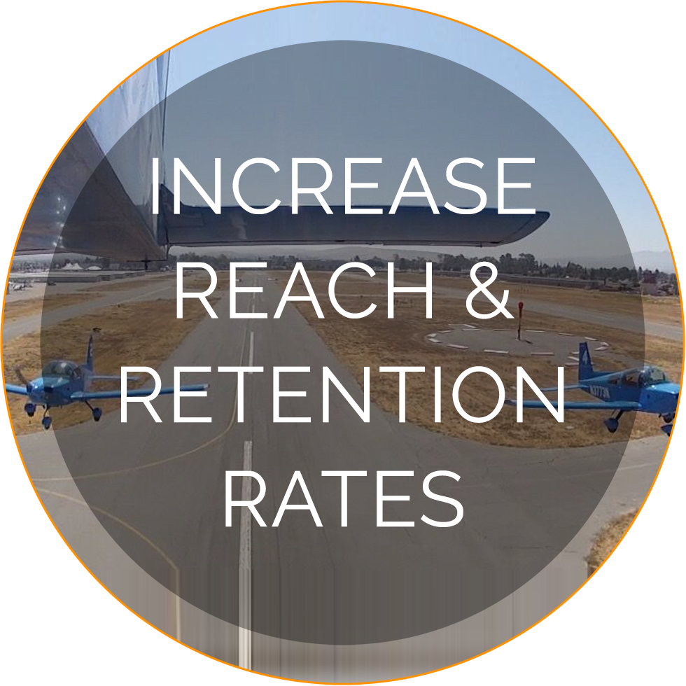 Increase reach and Retention Rates