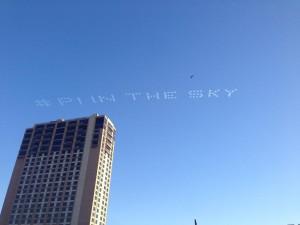 Aerial Advertising-Aerial Hashtag