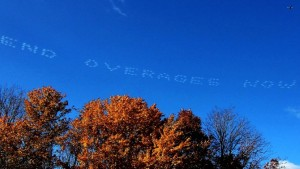 digital skywriting
